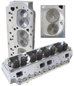 <strong>Complete Aluminium Cylinder Heads (Pair), 210cc Runner with 84cc Chamber </strong><br /> Suit Big Block Chrysler