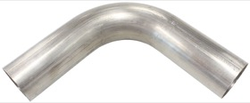 "<strong>Stainless Steel 90° Mandrel Bend</strong><br />3-1/2"" O.D, .065"" Wall, 6"" Leg"