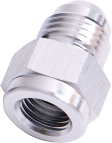<strong>AN Flare Expander Female/Male -3AN to -4AN </strong><br />Silver Finish