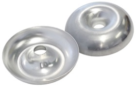 "<strong>Donut Half</strong> <br />3"" O.D, 304 Stainless Steel"