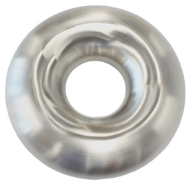 "<strong>Stainless Steel Full Donut</strong><br /> 2-1/2"" O.D, Outside Weld Only"