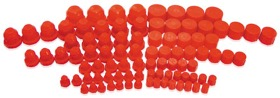 <strong>Plastic Dust Caps & Plugs</strong><br /> 96 piece assorted sizes from -3AN to -20AN
