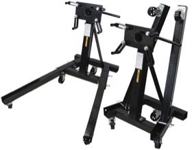 <strong>2000lb. Heavy Duty Foldable Engine Stand</strong>
