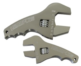 <strong>Adjustable Grip AN Wrench Kit </strong><br /> 3-1/2&quot; & 4-1/2&quot; handle, Blue finish