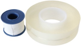 <strong>Non-Sticking Cutting Film Kit</strong><br /> Includes 50m Roll of Clear Non-stick Film & 2m Roll of White PE Film