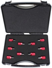 <strong>Thread Identification Kit</strong><br />With Imperial Thread Adapters