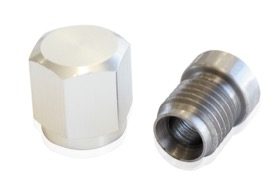 "<strong>Steel Weld-On K-Style EGT Bung & Cap</strong><br /> 7/16""-20. Suits 1/4"" Probe"