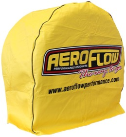 "<strong>Tyre Cover </strong> <br />Fits tyres up to 34-1/2"" diameter, High quality yellow vinyl. Each"