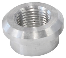 "<strong>Aluminium Weld-On Female NPT Fitting 1/4"" NPT</strong><br />"
