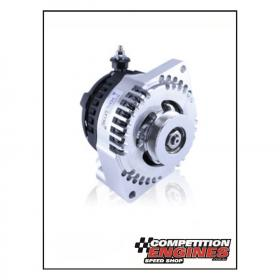 MECHMAN BILLET ALTERNATOR 240 AMP EARLY FORD 1 WIRE HOOK UP (MACHINED)