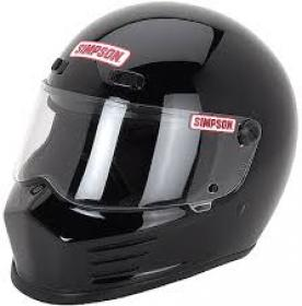 SIMPSON - Simpson Bandit Series Helmets SMALL BLACK 2010