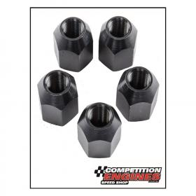 MOROSO MOR-46340 Moroso Drag Race Lug Nuts,  Drag Race, Conical Seat, Open End Design, Steel, Black Oxide, 5/8-18