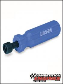 MOROSO MOR-62293 Moroso Carburetor Jet Tool, Blue, Plastic Handle, Black, Steel Driver