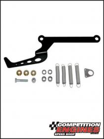 MOROSO MOR-64919 Moroso Throttle Return Spring Bracket Black Powdercoated Dual Spring Suit Holley 4150 Carburettor