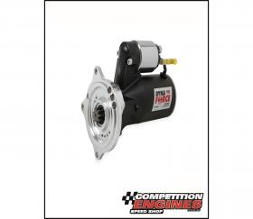 MSD-50933, DynaForce Starter, Mini  Black Powdercoated,  High Torque, 3 HP, Gear reduction of 4.4:1, Ford Big Block FE 390, 427, 428