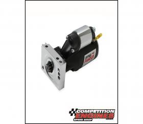 MSD-509503, MSD Black DynaForce Starter, Chev Small Block and Big Block With Straight Mount starter mounting holes.