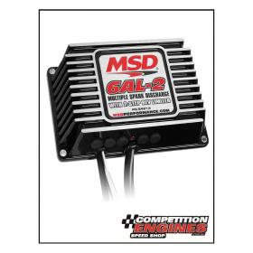 MSD-64213  MSD  6AL-2 Digital Ignition Box, Built-in 2 Step Rev Limiter With Rotary Dials, Black