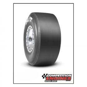 MT-3084S  Mickey Thompson ET Drag Slick 33 x 16.5 x 15   Bias-Ply, Stiff Sidewall, L8 Compound, Solid White Letters