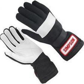 SIMPSON GLOVES Black Size-S