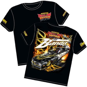 <strong>'The Bandit' Pontiac Trans-Am Outlaw Nitro Funny Car T-Shirt</strong><br /> Small