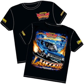 <strong>'L.A. Hooker' Plymouth Arrow Outlaw Nitro Funny Car T-Shirt</strong> <br /> Small