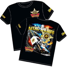 <strong>'Nitro Sheriff' Wheelstander T-Shirt</strong> <br /> Youth (Large)