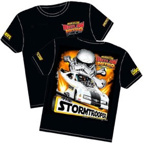 <strong>'Storm Trooper' Mustang Outlaw Nitro Funny Car T-Shirt</strong><br /> Youth (Medium)