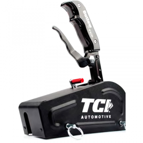 TCI Outlaw Automatic Shifter Cable Operated 3-Speed Reverse Pattern W/Cover (In Black)
