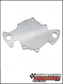 Meziere  WP174U, Electric Water Pump Back Plate, Ford Windsor 1994-1995, 5.0L, Polished