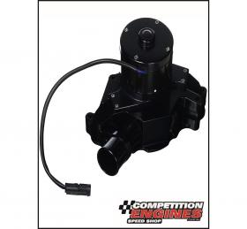 Meziere WP311S, 300 Series Electric Water Pump, Ford Windsor, 55 GPM, Black Anodized Finish