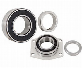 Strange Timken Tapered Axle Bearings,Locking Ring And Outboard Seal 1.562''Bore For 3.150 ID Housing Ends Pair