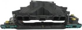 AFR Intake Manifold, Titon, Street/Strip, Plastic, Black, Single Plane, Square-Bore Flange, SBC Chevy