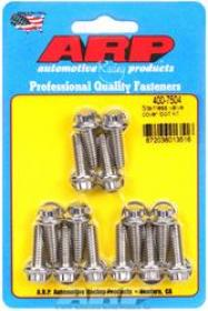 ARP VALVE COVER BOLTS Stainless 12-Point 1/4-20 .812 Lengh For Cast Alloy Covers Set Of 14
