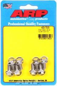 ARP VALVE COVER BOLTS Stainless Hex 1/4-20 For Stamped Steel Covers Set Of 8