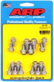 ARP OIL PAN BOLT KIT 12 Point Stainless Steel Suit SBC 265-400 With/STD 2pc Cork Gasket