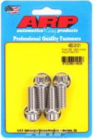 ARP Motor Mount Bolts, Stainless, 12-Point, Ford, 255, 260, 289, 302, 351W, Set