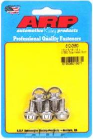 ARP  12 Point 3/8 Wrench Head 5/16-18 .560 length Stainless Steel Polished Pack of 5
