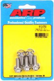 ARP 12 Point 3/8 Wrench Head 5/16-18 .750 length Stainless Steel Polished Pack of 5
