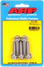 ARP 12 Point 3/8 Wrench Head 5/16-18 1.250 length Stainless Steel Polished Pack of 5