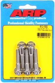 ARP 12 Point 3/8 Wrench Head 5/16-18 1.500 length Stainless Steel Polished Pack of 5