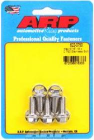 ARP  HEX 3/8 Wrench Head 5/16-18 .750 length Stainless Steel Polished Pack of 5