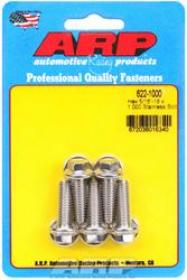 ARP  HEX 3/8 Wrench Head 5/16-18 1.000 length Stainless Steel Polished Pack of 5