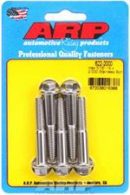 ARP  HEX 3/8 Wrench Head 5/16-18 2.000 length Stainless Steel Polished Pack of 5