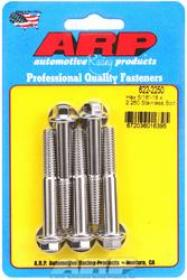 ARP  HEX 3/8 Wrench Head 5/16-18 2.250 length Stainless Steel Polished Pack of 5