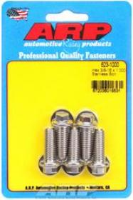 ARP  HEX 3/8 Wrench Head 3/8-16 1.000 length Stainless Steel Polished Pack of 5