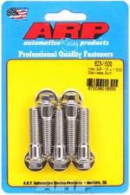 ARP  HEX 3/8 Wrench Head 3/8-16 1.500 length Stainless Steel Polished Pack of 5