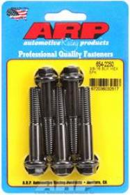 ARP  HEX 7/16 Wrench Head 3/8-16 2.250 length Chromoly Black Oxide Pack of 5