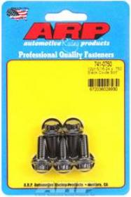 ARP  12 Point 3/8 Wrench Head 5/16-24 .750 length Chromoly Black Oxide Pack of 5