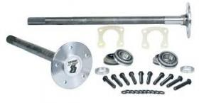 STRANGE S/T 35 SPLINE SERIES AXLES (Includes Studs, Bearings, Retaining Plates & Hardware) QTY-Pair