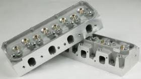 CHI CLEVALAND 225cc ALLOY 3V HEADS (Suit 351ci-427ci Up To 700 HP Must Use CHI Intake Manifold) QTY-Bare Pair